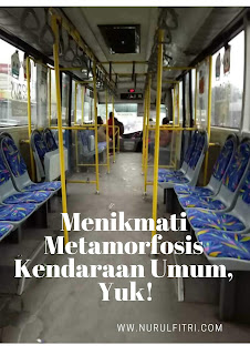 menikmati metamorfosis kendaraan umum