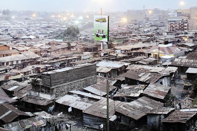 Mathare slums, Nairobi, Kenya
