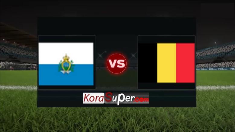 مشاهدة بلجيكا ضد سان مارينو 06-09-2019