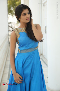 Telugu Actress Akshita (Pallavi Naidu) Latest Stills in Blue Long Dress at Inkenti Nuvve Cheppu Movie Promotions  0012.jpg