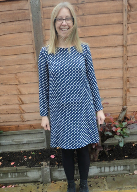 Polka dot Ultimate Shift Dress - Sew Over It