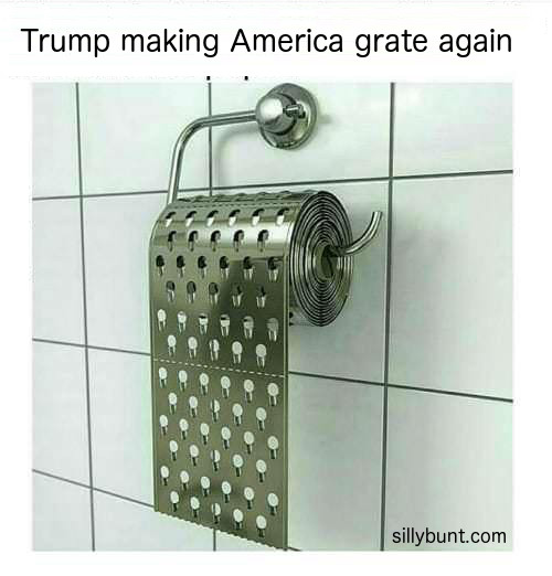 Trump Making America Grate Again