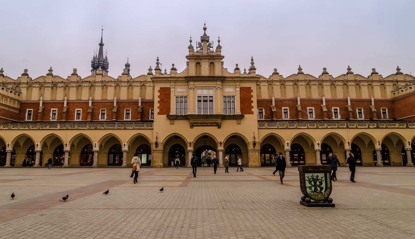 Cracovie Pologne Hiver