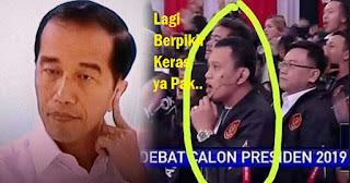 PDIP : Kalau Jokowi Berpikir Keras Pegang-pencet Kuping
