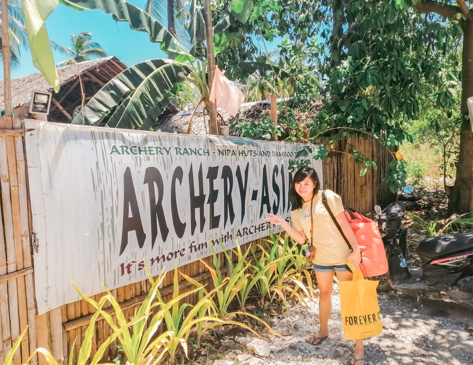 Staycation Series: Archery-Asia Nipa Huts & Camping in Moalboal, Cebu