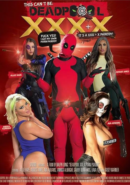 This Can't Be Deadpool XXXX - August Ames, Ava Addams, Anikka Albrite, Allie Haze, Kasey Warner, Brittany Andrews, Dava Foxx