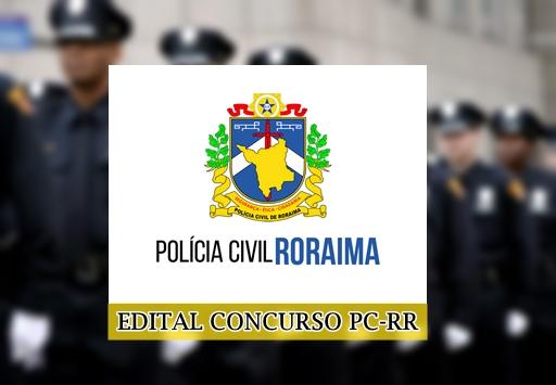 Concurso da PCRR 2018 (apostilas Polícia Civil-RR)