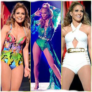 Jennifer Lopez Se Luce