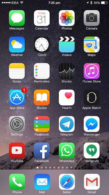 How to turn off cellular data for automatic downloads and app updates on an iPhone running iOS 8
