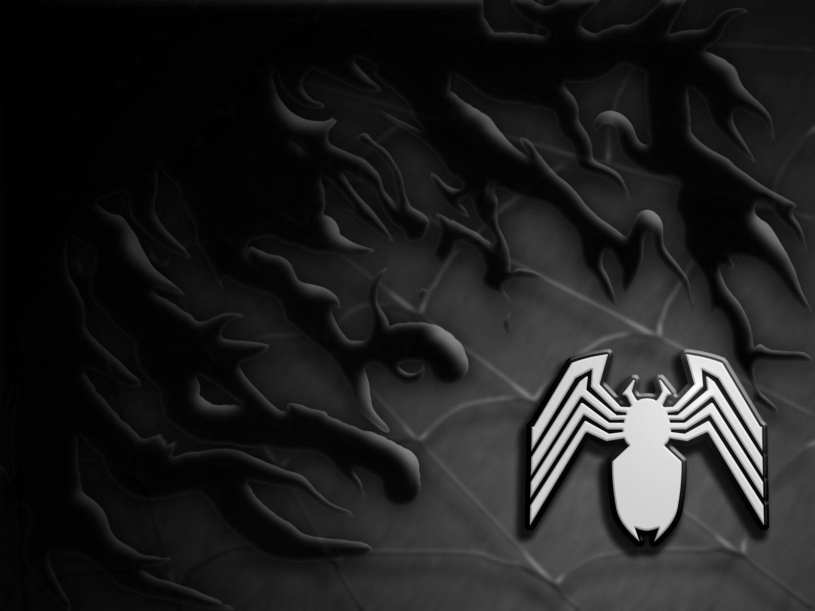 Amazing spiderman cute cartoon wallpaper - Black and white spiderman wallpaper ...