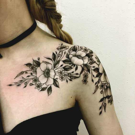 collar bone tattoos tumblr