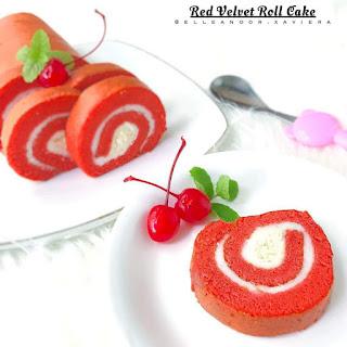 Ide Resep Membuat Red Velvet Roll Cake