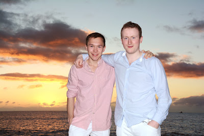 Norwegian Brothers Visit Hawaii
