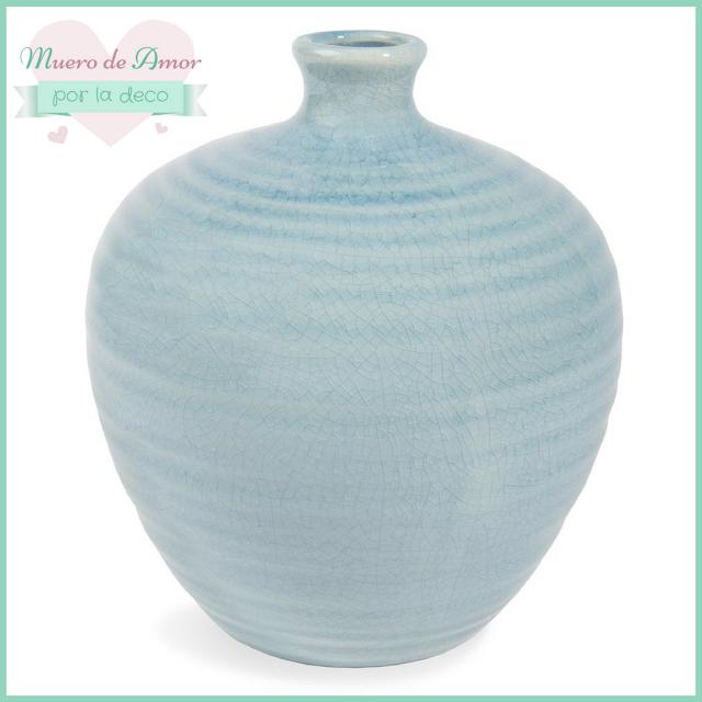 Jarrones Azules para Decorar tu Casa-Maisons Du Monde-By Ana Oval-11