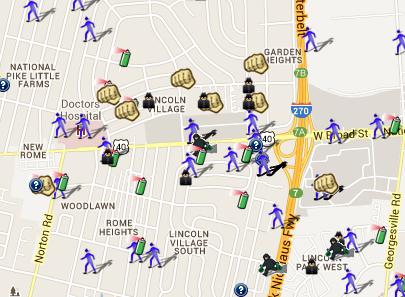 Spotcrime The Public S Crime Map Franklin County Ohio Is