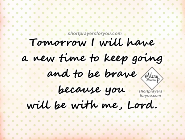 Short night prayer, bedtime prayer, nice christian quotes with images by Mery Bracho.