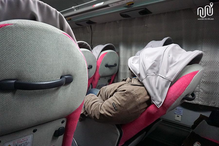 รถไนท์บัสจากสนามบินนาริตะไป Kanazawa โดย willerexpress