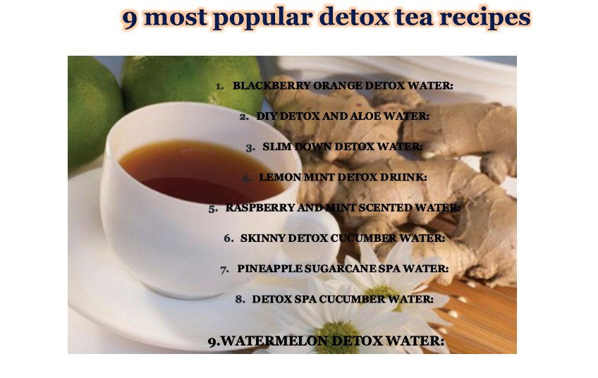 do tea detox diets work