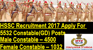 HSSC-Recruitment-5532-Constable(GD)-Posts-Vacancy