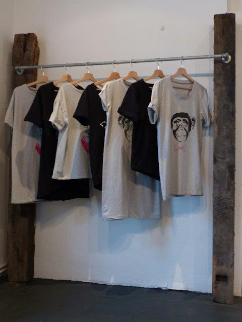 BasicApe Dortmund faire Mode slow fashion Bio Baumwolle Siebdruckverfahren Tshirts Upcycling StartUp