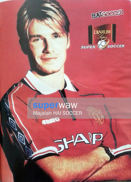 Beckham Man United 98