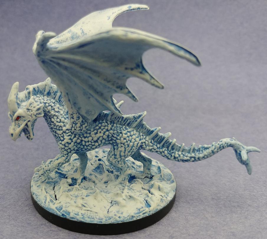 Dnd White Dragon: Young White Dragon