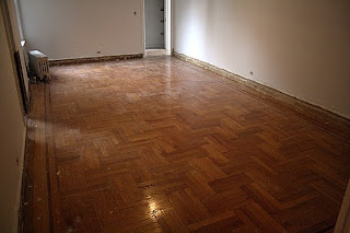 Parquet floor refinishing, NYC