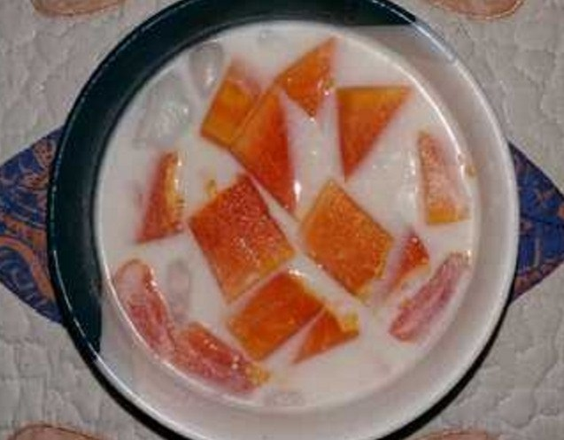 Rahasia resep es pepaya susu segar