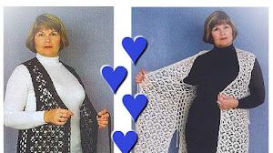 Chalecos Talla XXL / Patrones Crochet