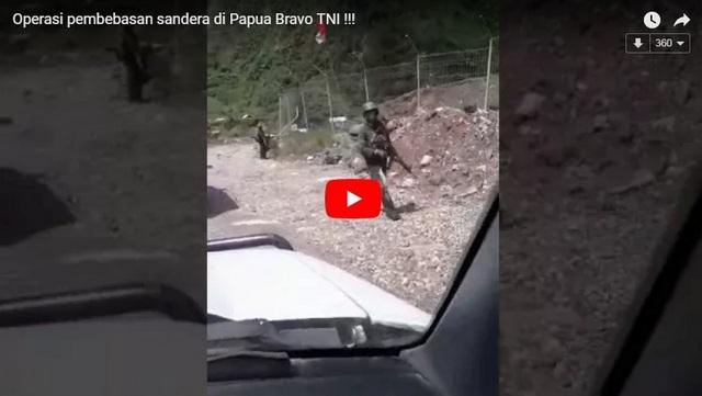 BRAVO! Inilah Pasukan TNI yang Bebaskan Sandera di Papua, Mana yang bilang TNI cuma makan-tidur?