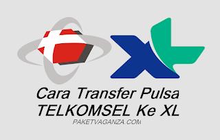 Cara Transfer Pulsa Telkomsel Ke XL Terbaru 2019