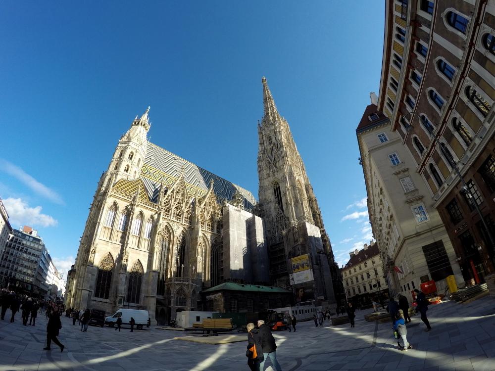 Katedra św Szczepana, główna atrakcja Wiednia