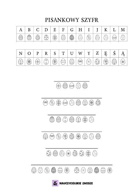 wielkanoc pomoce dydaktyczne do druku