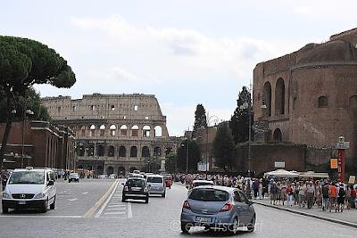 Voyage à Rome, Colisée, Rome, Domus Aurea,