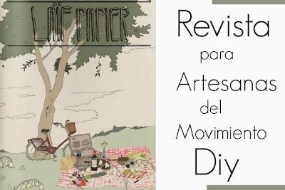 Revista para Artesanas del Movimiento Diy