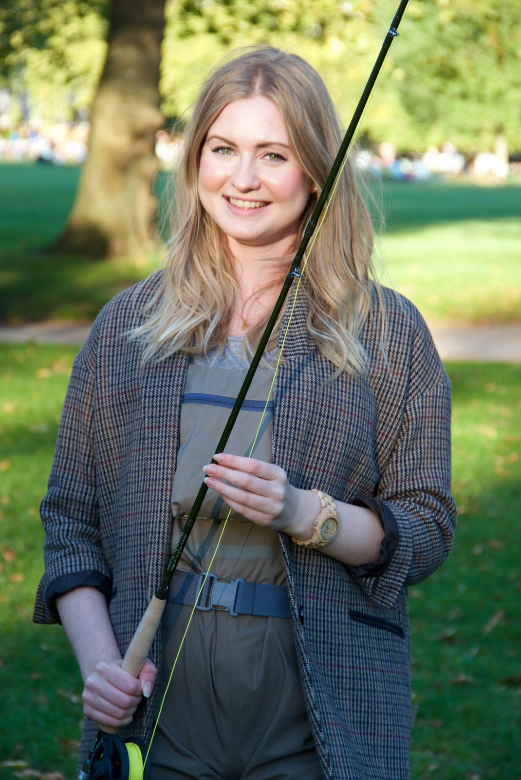 Fly fishing lesson with Orvis, FashionFake, lifestyle bloggers