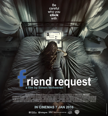 Poster Of Friend Request 2016 Full Movie In Hindi Dubbed Download HD 100MB English Movie For Mobiles 3gp Mp4 HEVC Watch Online