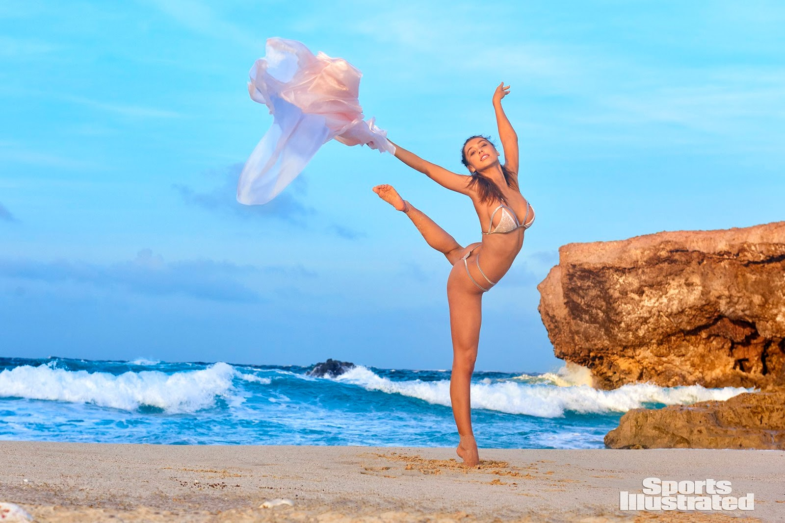 Alexis Ren 2018 SI Swimsuit Photos