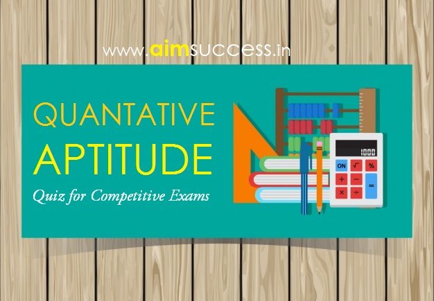 Quantitative Aptitude MCQ for SBI Clerk 2018