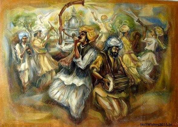 Holi 2016 Painting