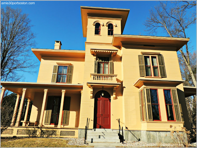 Emily Dickinson Museum en Amherst: The Evergreens