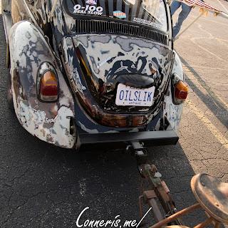 Volkswagen Beetle OILSLICK tow bar