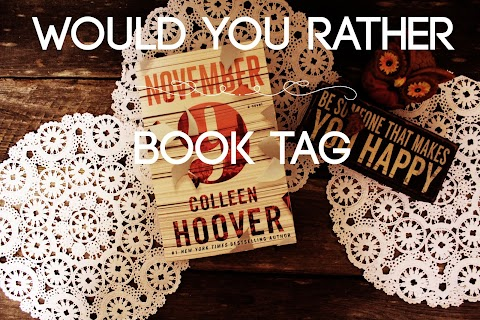 Tag Tuesday: Would You Rather?