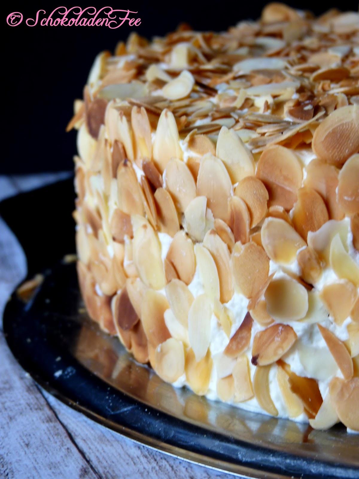 Ich Backs Mir Nuss Sahne Torte Schokoladenfee