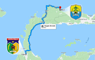 Lelah dan Bahagia Menempuh Jarak 545 km dari Kota Palu ke Kabupaten Buol