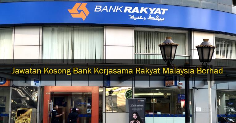 Jawatan Kosong di Bank Rakyat