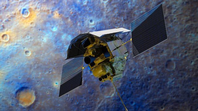 La sonda espacial Messenger