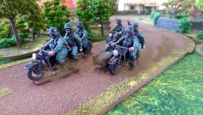 Kradshutzen Reconnaissance Patrol
