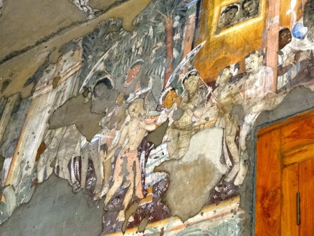 Udayin Narrative Painting on Ajanta cave 17 - Gupta