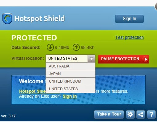 hotspot shield free download for pc
